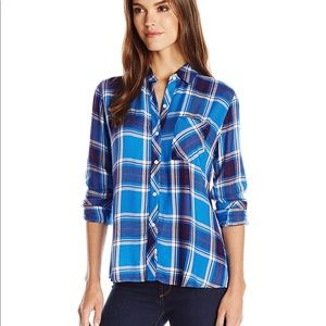 Rails | Hunter Santorini/ Royal Button Down